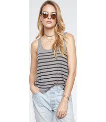 brock classic tank - l heather grey