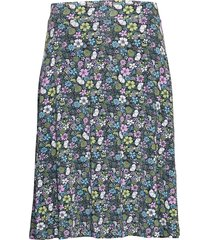 valborg knälång kjol multi/mönstrad jumperfabriken