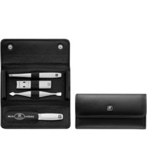 zwilling twinox 5 piece travel set with snap fastener case