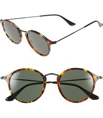 ray-ban 'icon' 49mm sunglasses in tortoise/black at nordstrom