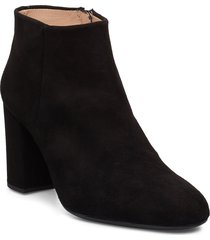 obitosin_ks shoes boots ankle boots ankle boots with heel svart unisa