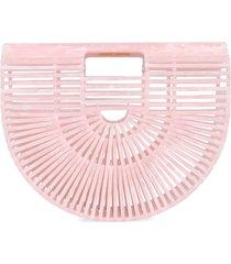 cult gaia acrylic ark small handbag