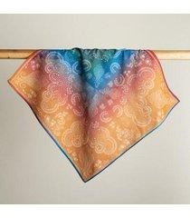 sundance catalog women's prismatic rain bandana