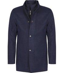 abrigo casual pierre d'agostiny para hombre, ref siberia azul