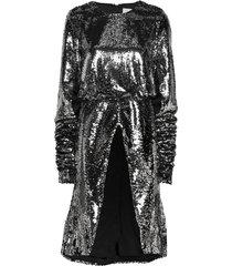 2nd edition goldie kort klänning silver 2ndday