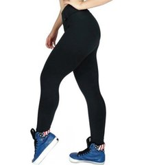 calça legging mvb modas cintura alta preta