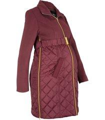 cappotto prémaman in simil lana (rosso) - bpc bonprix collection