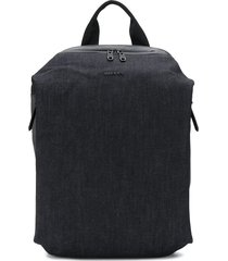 diesel denim backpack - blue