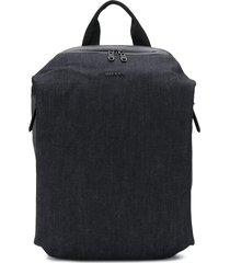 diesel denim backpack - blue