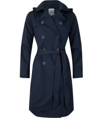 happyrainydays regenjas soft touch trenchcoat madrid midnight