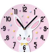 zegar dla dziewczynki z króliczkiem