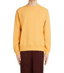 men's dries van noten haffel cotton sweatshirt, size medium - yellow