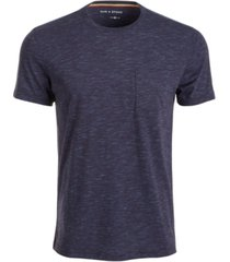 sun + stone men's danny contrast chain stitch t-shirt, created for macy's