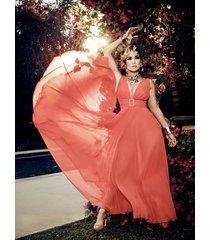 długa plisowana sukienka marciano