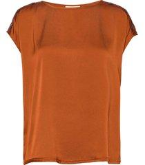 fqlotte-bl blouses short-sleeved orange free/quent