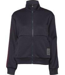 full zip jacket sweat-shirt trui zwart calvin klein performance