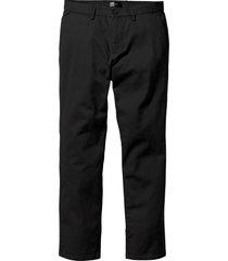 pantaloni chino regular fit straight (nero) - bpc bonprix collection