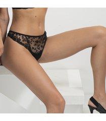 ambra lingerie slips camarques string zwart 1210