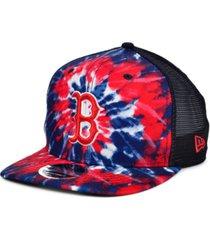 new era boston red sox tie dye mesh back 9fifty cap