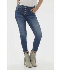 jean para mujer topmark, jeans con botones externos