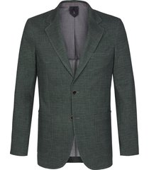 profuomo jacket knitted hopsack green