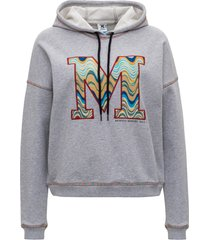 m missoni sweatshirt with logo