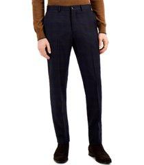 ax armani exchange men's slim-fit wool suit separate pants