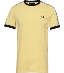 taped ringer t-shirt t-shirts short-sleeved gul fred perry