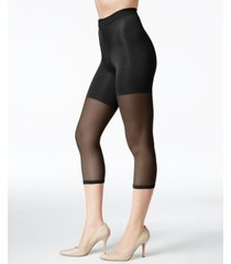 spanx women's super footless tummy control power capri, also available in extended sizes