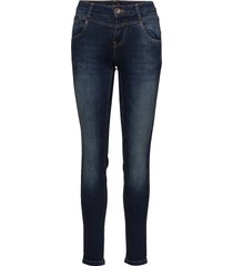 carmen highwaist skinny skinny jeans blå pulz jeans