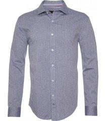 camisa jacquard cuello italiano potros
