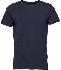 jbs of denmark, o-neck t-shirt t-shirts short-sleeved blå jbs of denmark