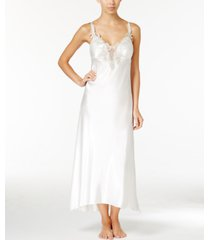flora by flora nikrooz stella satin venise trim nightgown