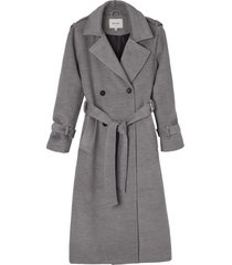matt & nat vivi long coat, light grey