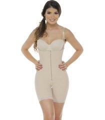 fajas mujer body senos libres/latex/body line control 1027 piel