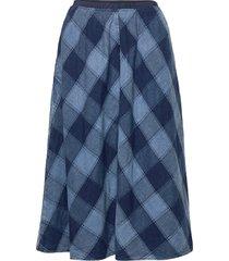 shreela knälång kjol blå baum und pferdgarten