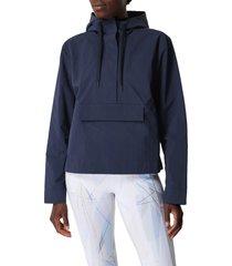 women's sweaty betty air flow water resistant hoodie