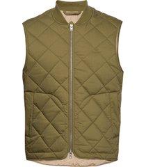 d1. the light padded vest vest groen gant