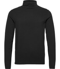 turtle neck tee l/s t-shirts long-sleeved svart lindbergh