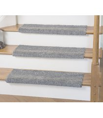 caprice bullnose carpet stair tread with adhesive padding, by tread comfort (1 x