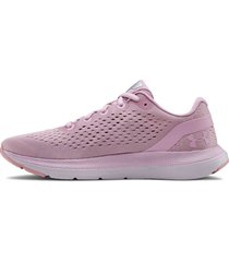 tenis rosa under armour charged impulse 3021967-601
