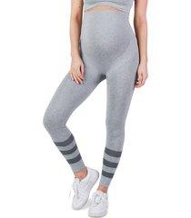 cache coeur maternity/nursing sport leggings, size medium in grey at nordstrom