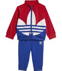 trainingspak adidas large trefoil trainingspak