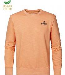 petrol industries sweater 2109 orange smoothie