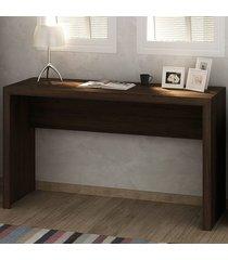 mesa para escritório me4135 rústico - tecno mobili