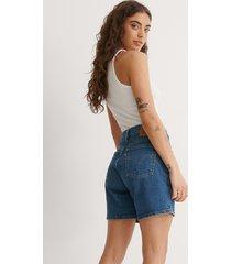 levi's 501 mid thigh shorts charleston - blue