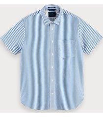 scotch & soda structured shirt regular fit