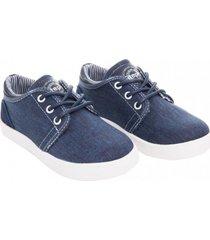 zapato denim street azul stepps