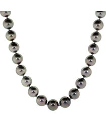akoya and tahitian ombre pearl necklace
