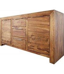 komoda drewniana 135x70x43cm sheesham